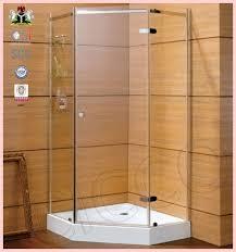 good quality hinge 3 panel sliding shower door