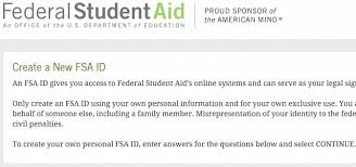 Important Update The New Fsa Id And How It Impacts Your Student