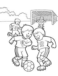 Soccer Coloring Sheet Best Coloring Pages 2018
