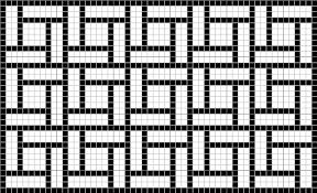 Mosaic Pattern Enchanting Geometric Roman Mosaic Pattern