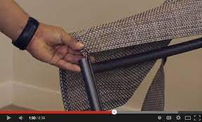 tropitone sling chair replacement