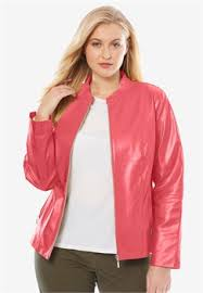 leather jackets plus size womens plus size leather jackets coats jessica london