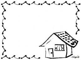 エコ節電夏のwebデザインのフリー素材毛筆風のガーリーでかわいい家