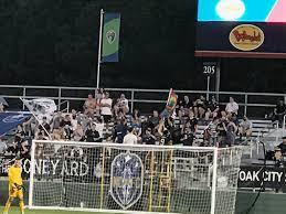 Sahlens Stadium At Wakemed Soccer Park North Carolina Fc