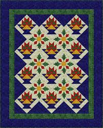 What Is Applique and How Is it Used in Quilts? & Sew a Basket Quilt that Combines Patchwork and Applique Adamdwight.com