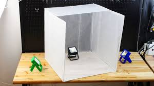 Foldable Light Box Diy How To Make Foldable Light Box Diy