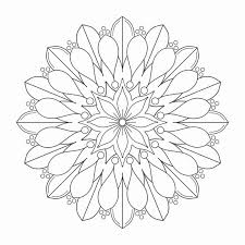 Simple Mandala Coloring Pages Awesome Adult Coloring Pages Mandalas