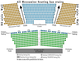 Competent Microsoft Theater Seating Map Everett Civic