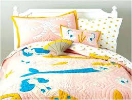 little mermaid bedding