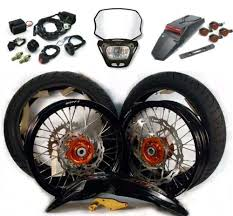 supermoto conversion kit the street legalizer motostrano com