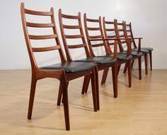 kai kristiansen danish modern teak dining chairs image 3 teak dining chairs side chairs