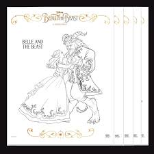 Small Picture Disney Beauty and the Beast Coloring Pages A Night Owl Blog