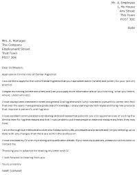 Dental Hygienist Cover Letter Example Icover Org Uk