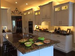 Cabinets With Lights On Top Kitchen Cabinets With Led Lights Top 3 Led Strip Lights