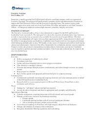 doc duties job description for administrative assistant now