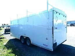 enclosed trailer rack trailer ladder racks trailer ladder racks us cargo 8 5 x enclosed trailer enclosed trailer rack