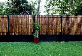 Bamboo Fencing Garden