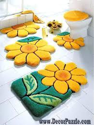 flower bath rug flowers bathroom rug sets bath mats yellow and green bathroom rugs and carpets flower bath rug