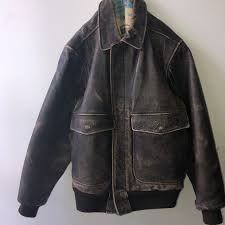 brown leather jacket has