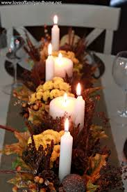 Fall Table Scapes Teal Yellow Fall Tablescape Love Of Family Home