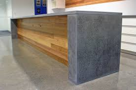 Polished Concrete Kitchen Floor Counter With Polished Concrete Top And Sides Kitchen Pinterest