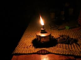 Image result for images of lighting kerosene lamp with another lamp
