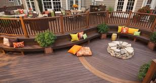 Composite deck ideas Backyard Whether Your Backyard Is Used For Relaxing With Your Kids And Family Or You Love To Entertain On Your Back Deck With Cookouts And Other Gatherings Nimvo Interior Design Luxury Homes 20 Gorgeous Trex Composite Decking Ideas