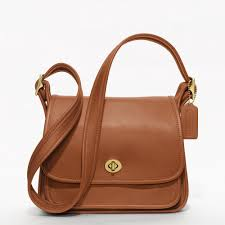 Coach    COACH CLASSIC RAMBLERS LEGACY FLAP IN LEATHER