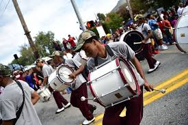 why more black students are enrolling in historically black  the morehouse spelman and clark atlanta university homecoming parade at morehouse college on 24 2015 in atlanta