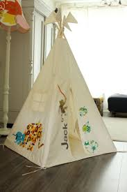 ... Marvelous Pictures Of Kid Teepee Design For Kid Play Room Decoration :  Fascinating Home Play House ...