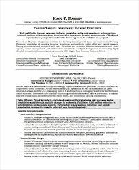 Banking Resume Amazing 838 Banking Resume Samples 24 Free Word PDF Documents Download