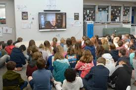 Love Creek fifth-graders hold video chat with author Roland Smith | Cape  Gazette