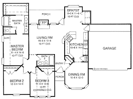 1500 sq ft bungalow house plans new home floor plans 1500 square feet