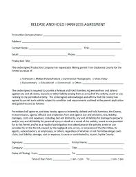 Hold Harmless Agreements Hold Harmless Agreement Construction Making Hold Harmless 17