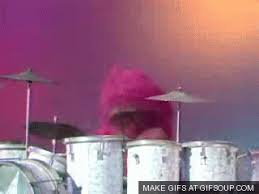 animal muppet drums gif.  Gif Download With Animal Muppet Drums Gif E