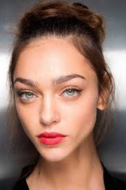 candy apple red lips at dolce gabbana dolce gabbana spring 2016 spring summer 2016 nail trends matching nails to makeup