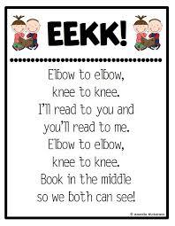 Cafe Reading Anchor Chart Eek Chart