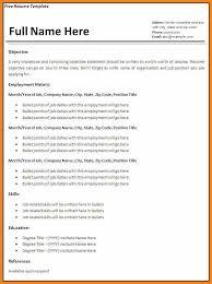 Basic Resume Templates Teller Resume Sample