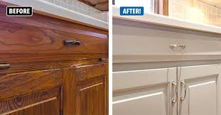 no one needs to know the age of your cabinets the miracle method refinishing process