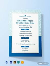 Free Meeting Invitation Template Word Psd Indesign