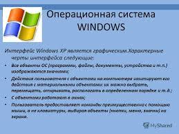 Презентация на тему Системное программное обеспечение Виды  6 Операционная система windows Интерфейс windows