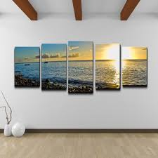 wall art ideas design matching sets 4 piece wall art contemporary ocean sea sunset beach modern hanging white background top 4 piece wall art set 4 piece  on matching canvas wall art with wall art ideas design matching sets 4 piece wall art contemporary