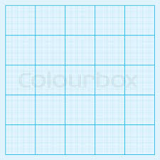 Image Of Blue Graph Paper Coordinate Stock Vector Colourbox