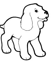 Huisdieren Kleurplaten Hond
