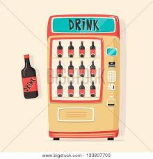 Vending Machine Cartoon Beauteous Vintage Vending Vector Photo Free Trial Bigstock