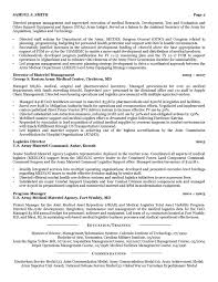 Military Resumeample Format Bio Examples Infantry Curriculum Vitae