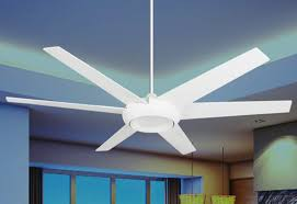 indoor outdoor pure white ceiling fan
