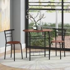volmer 3 piece pact dining set by zipcode design