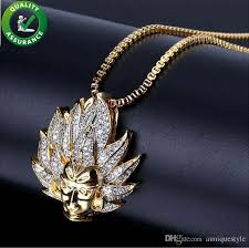 whole iced out chains pendant designer necklace gold hip hop jewelry mens luxury diamond rapper chain pandora style charms rock link choker boy name