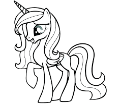 Coloring Pages For My Little Pony Print My Little Pony Coloring